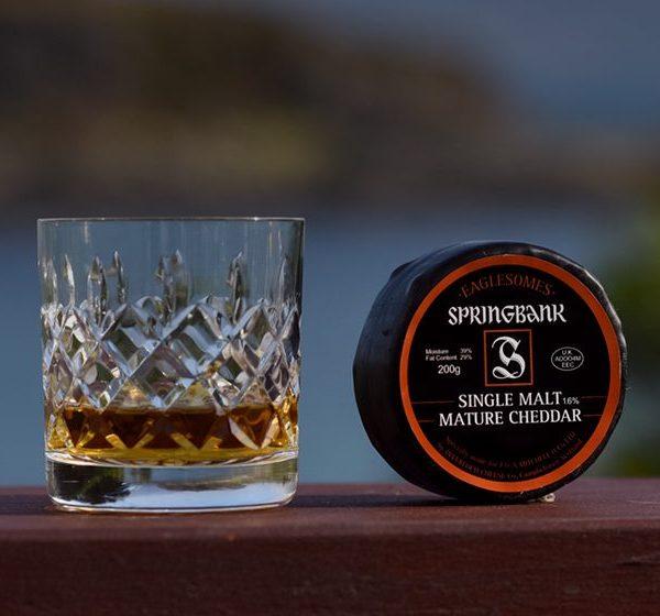 ScotCheese Springbank Whisky Cheese