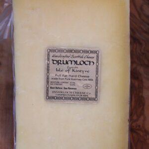 ScotCheese Inverloch Drumloch Cheddar Cheese