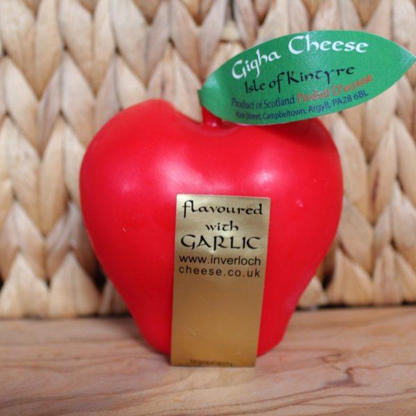 ScotCheese Isle Of Kintyre Gigha Fruit Garlic Apple Cheddar Cheese