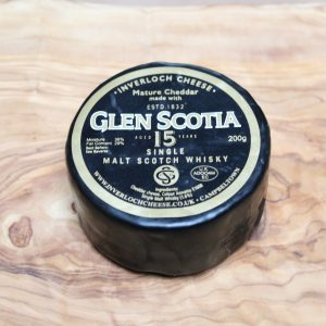 ScotCheese Isle Of Kintyre Glen Scotia 15 Whisky Cheddar Cheese