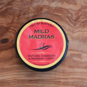 ScotCheese Isle Of Kintyre Mild Madras Cheddar Cheese