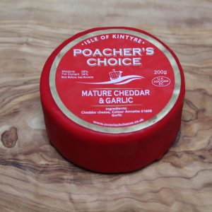 ScotCheese Isle Of Kintyre Poacher's Choice Cheddar Cheese